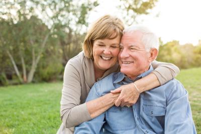 Altes Pärchen mit Generali Lebensversicherung