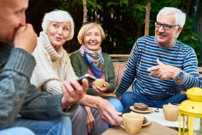 Selbstständige in Rente mit Altersvorsorge