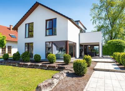 Wohnriester finanziertes Eigenheim